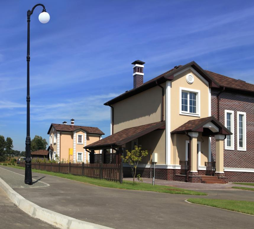 House in America Neighborhood