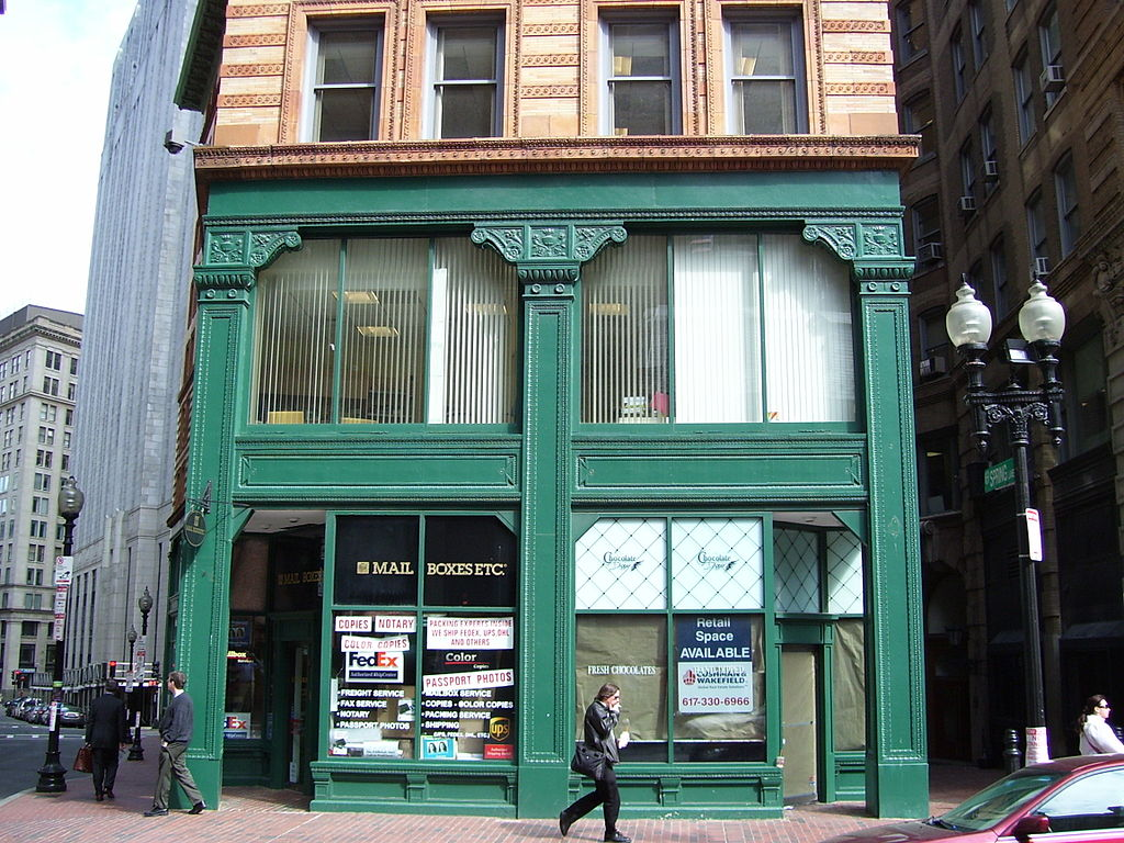 Winthrop Building in Boston