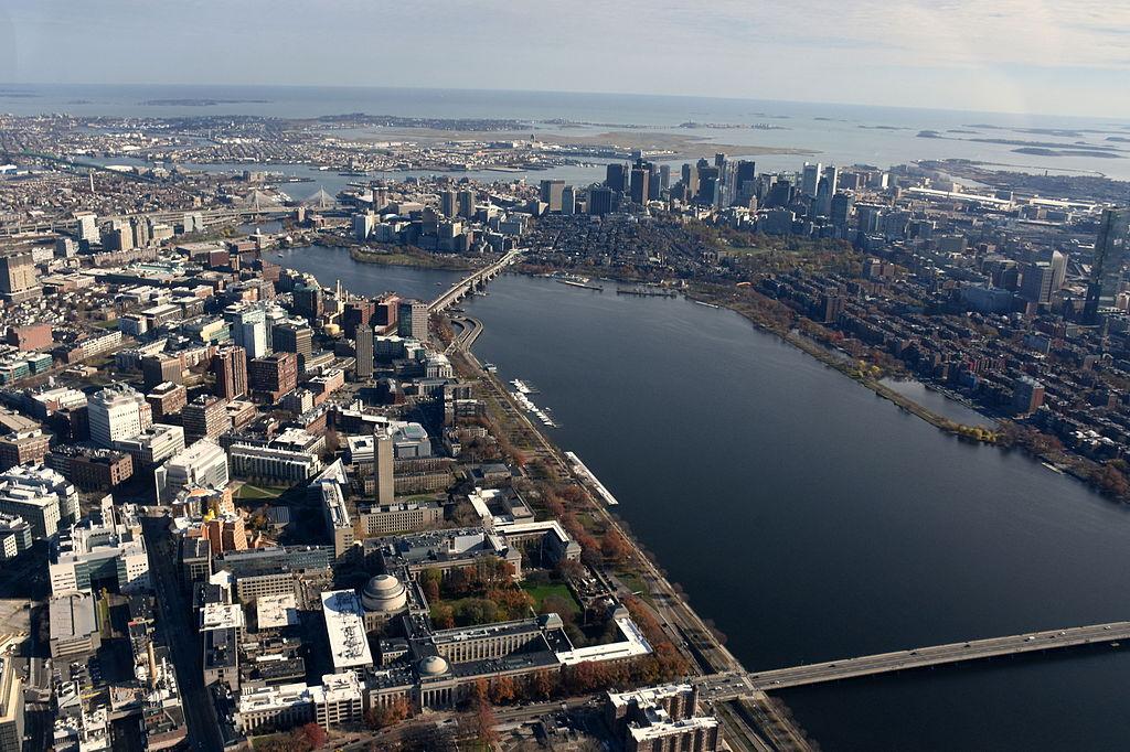 MIT Charles River Aerial